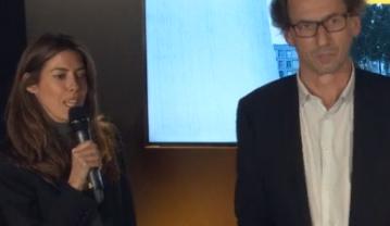 Audrey Tcherkoff et Mathias Levy-Noguères - Soirée de lancement du LH Forum 2019